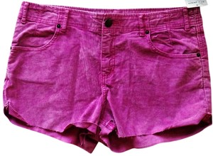 Free People Shorts Raspberry