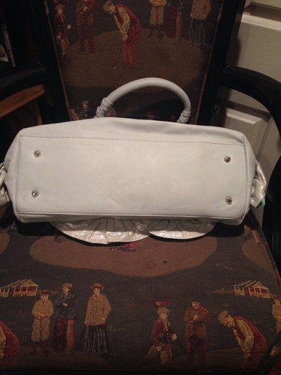 Other Satchel in Tourquoise Gray Glitter