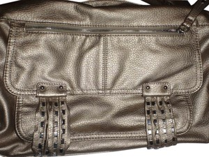 Jessica Simpson Purse Shoulder Handbag Tote in Gold