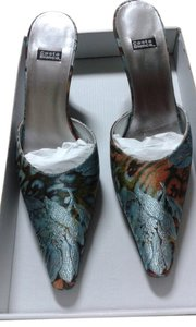 Casablanca pleasure blue Mules