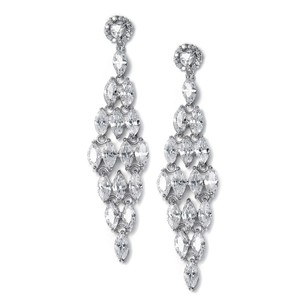 Statement Crystal Bridal Earrings