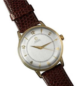 Omega 1946 Omega Vintage Mens Mid Century Watch, Automatic - 14K Gold Filled