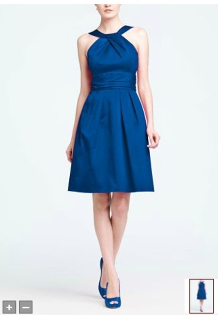 Item - Horizon Blue Style 83690 Modern Bridesmaid/Mob Dress Size 12 (L)