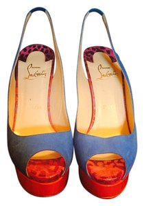 Christian Louboutin Cobalt blue Sandals
