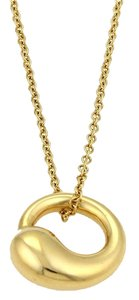 Tiffany & Co. Tiffany & Co. Elsa Peretti Eternal Circle 18k Yellow Gold Necklace