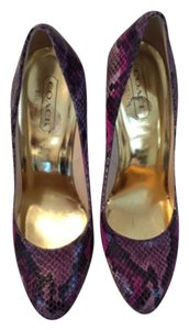 Coach Purple multi Pumps
