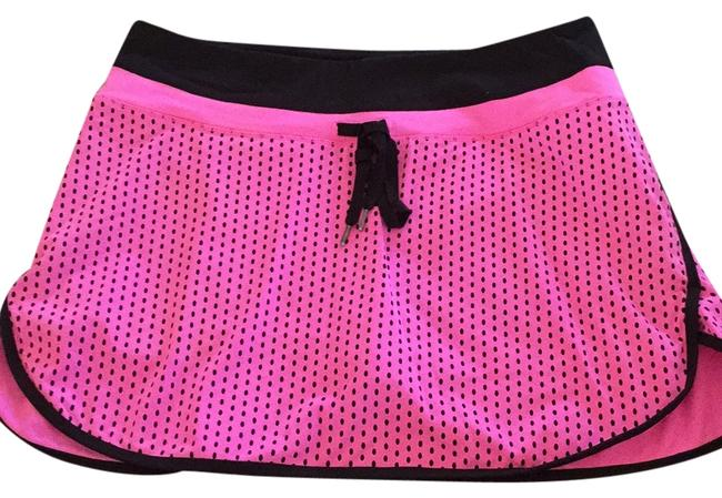 Item - Hot Pink W/ Black Activewear Bottoms Size 12 (L, 32, 33)