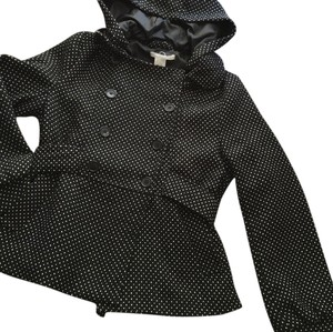 Charlotte Russe Black with white polka dots Jacket