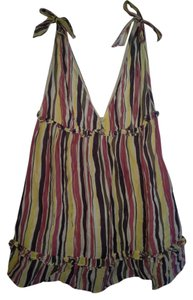 Samantha Treacy Top Multi-color Stripes