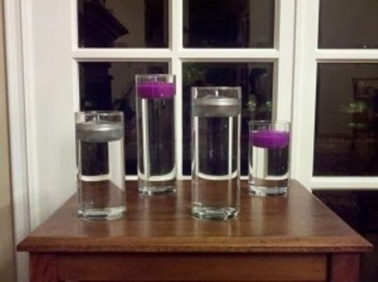 Preload https://item5.tradesy.com/images/multicolor-glass-cylinder-vases-round-floating-candles-led-centerpiece-90184-0-0.jpg?width=440&height=440
