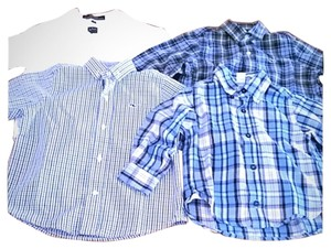 Ike Behar Kids Clothing Button Down Shirt Multi