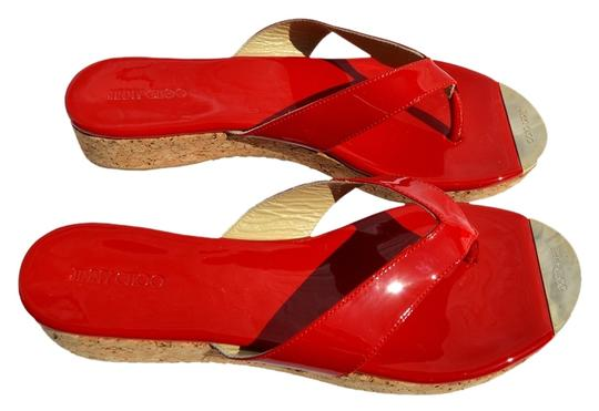 Preload https://item5.tradesy.com/images/jimmy-choo-red-sandals-901889-0-0.jpg?width=440&height=440