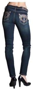 Grace in LA Boot Cut Jeans-Dark Rinse