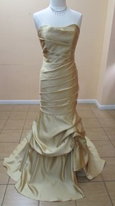 Alfred Angelo Gold 7354l Dress