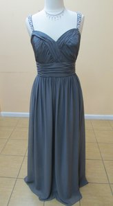 Alfred Angelo Charcoal 8110l Dress