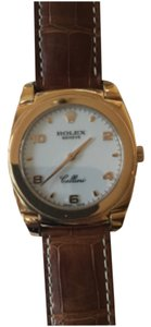 Rolex 18 K rose gold Men cellini cestello Manual
