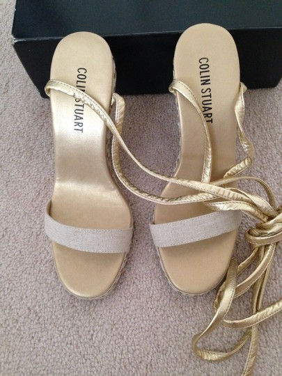 Colin Stuart Sexy Summer Victorias Secret Vs Tan Wedges