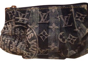 Louis Vuitton Louis Vuitton LE blue denim pouch