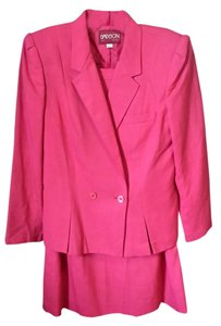 Other Sasson Pink Skirt Suit