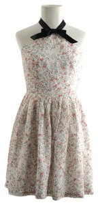 Rodarte for Target short dress Multi Lace Halter on Tradesy