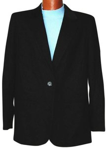Sag Harbor 100 % Wool BLACK Blazer