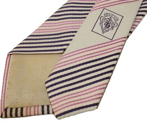 Gucci Gucci Men's Striped Woven Silk Tie, 2.75