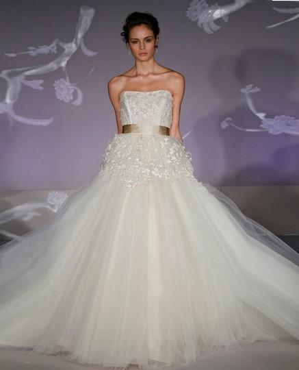 Price Of Lazaro Wedding Gowns: Lazaro Strapless Ball Gown In Chantilly Lace 32183147