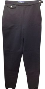 Ralph Lauren Womens Slacks Trouser Pants Black