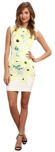 French Connection short dress White Yellow on Tradesy