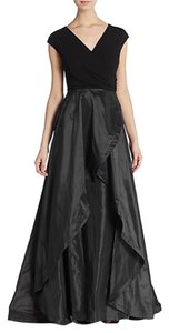 Teri Jon Taffeta Evening Gown Dress