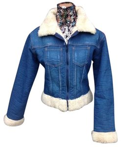 BLUE Womens Jean Jacket