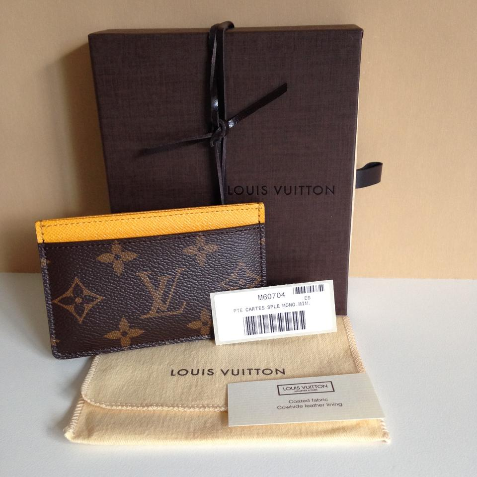 Louis Vuitton 2015 Credit/Business Card Holder Monogram Canvas ...