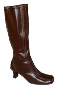 Kenneth Cole Reaction Tall Chunky Brown Boots