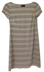 Laundry by Shelli Segal short dress Gold Stripe on Tradesy