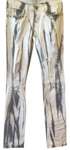 machire Straight Leg Jeans-Acid