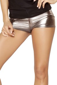 Metallic shorts Shorts