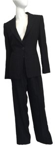 Giorgio Armani GIORGIO ARMANI Plaid One Button Pant Suit Size: 10 (but it fits on size US 8