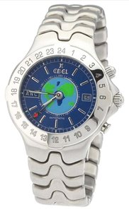 Ebel Ebel Men's Sportwave Meridian GMT Stainless Steel Automatic Watch