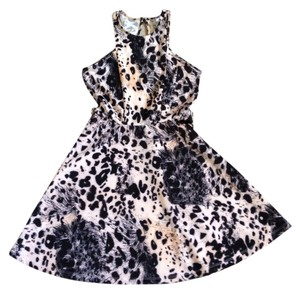 Charlotte Russe Leopard Print Party Dress