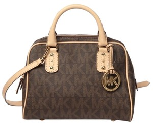 Michael Kors Satchel Pvc Signature Shoulder Bag