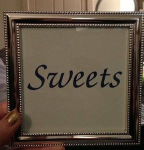 Wedding Table Number/picture Frames