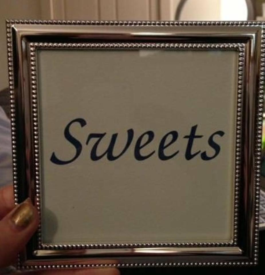 Wedding Table Number Picture Frames 34 Off
