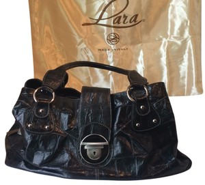 Lara Hélène Satchel in Black