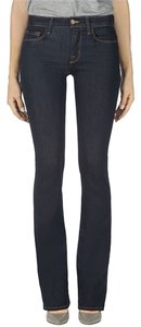 J Brand Power Stretch Denim Boot Cut Jeans-Dark Rinse