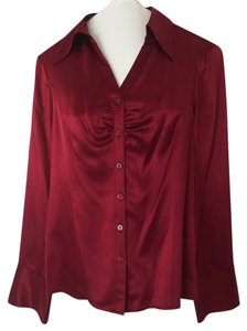Classiques Entier Silk Nordstrom Top Red