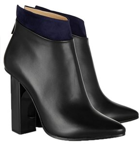 Jimmy Choo Leather Boot Black Boots