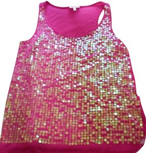 Fashion Bug Top Pink Sequin