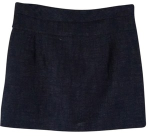 J.Crew Mini Skirt Dark Navy
