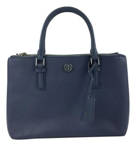 Tory Burch Tote in Comet Blue