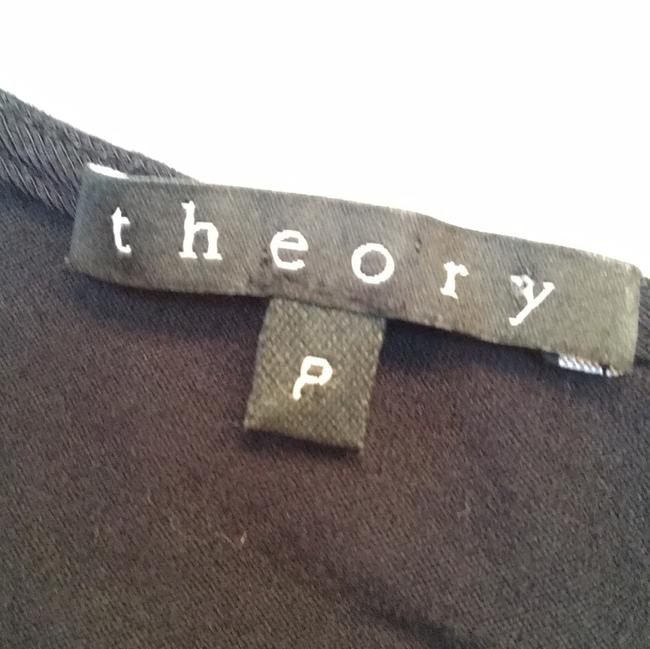 Theory Black Sleeveless Shirt Small Top